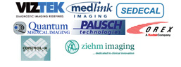 Medical Logistics™ partners with the best medical imaging companies in the world!